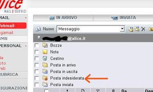 Esempio webmail